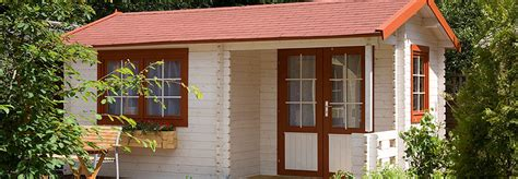 gartenhäuser zum wohnen das winterfeste gartenhaus gartenhaus2000 magazin