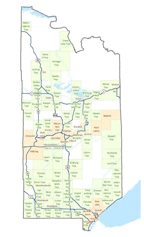 Saint Louis County Maps