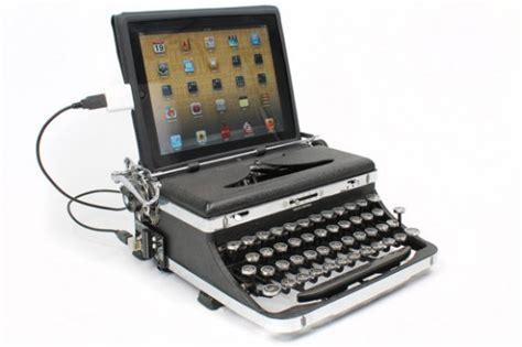 machine a ecrire moderne gadget de la semaine l usb typewriter la machine 224 233 crire 2 0 pour vos pc mac et tablettes