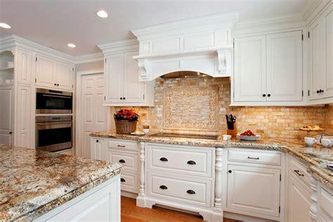 classic white traditional kitchen plain fancy