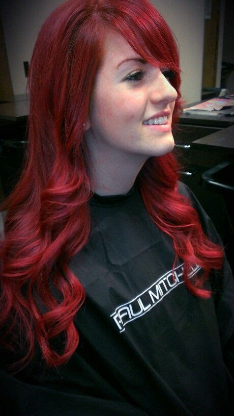 25 Best Vibrant Red Hair Ideas On Pinterest Red Velvet