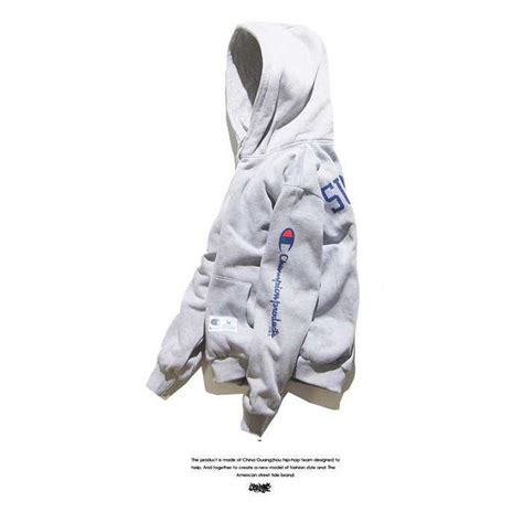 supreme clothes cheap buy cheap supreme clothing chion embroidery grey hoodie