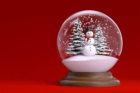 christmas snow globe wallpaper  images