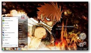 Windows 7 Fairy Tail Theme [Anime Themes]