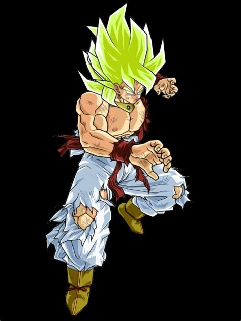 broly saiyan fusion legendary super broku potara goku dragon ball wiki dbz wikia go ultra lssj ultradragonball could fanart background