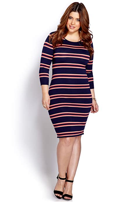 forever 21 sweater dress forever 21 plus size festive striped sweater dress in