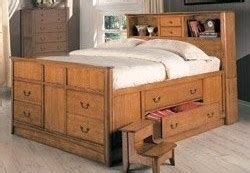 diy king size captains bed  drawers plans