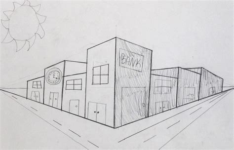 Draw 1-point Perspective