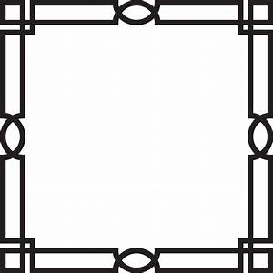 Decorative Border PNG Transparent Free Images | PNG Only
