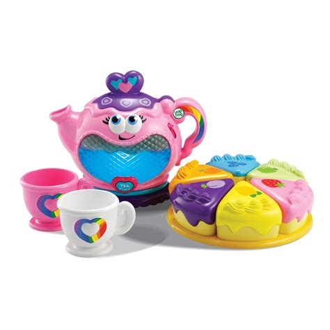 leapfrog musical rainbow tea party toy kitchens play