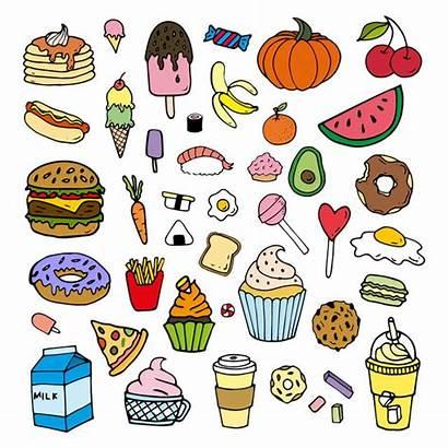 Cartoon Doodles Doodle Colorful Coretan Pngtree Clipart