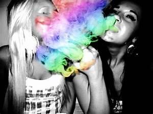 rainbow smoke on Tumblr
