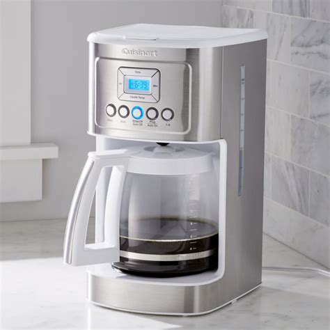 cuisinart  cup perfectemp programmable coffee maker