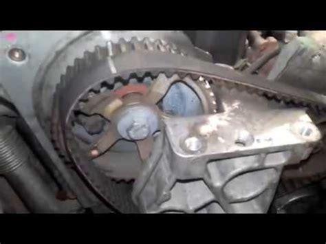 renault laguna 1 9 dci timing belt change replacement timing marks