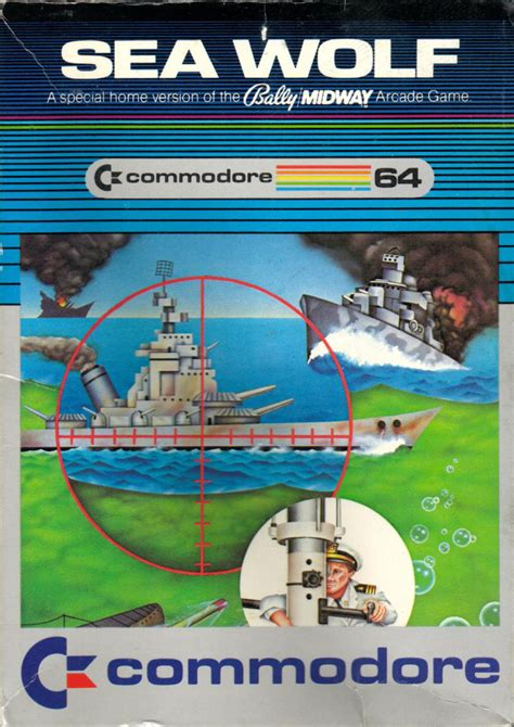 Sea Wolf 1976 Arcade Box Cover Art Mobygames