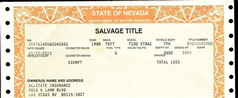 Boat With Salvage Title by What Is Salvage Title Meaning And What Does Salvage Car