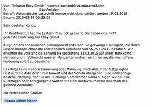 Inkasso Rechnung : neue spam welle von inkasso ebay gmbh botfrei blog ~ Themetempest.com Abrechnung