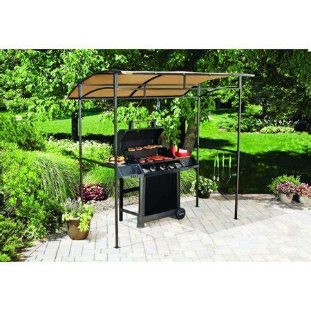 grill gazebo walmart mainstays curved grill shelter walmart