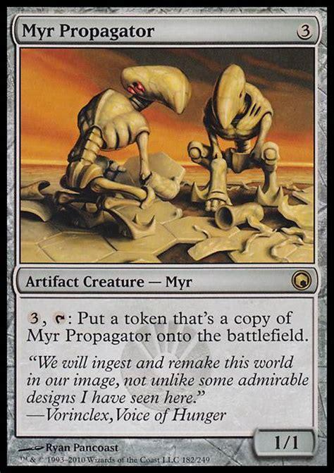 Mtg Myr Deck Tappedout by Myr Propagator Mtg Card