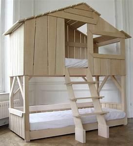 Lit Maison Bois : le plus beau lit cabane pour votre enfant ~ Premium-room.com Idées de Décoration