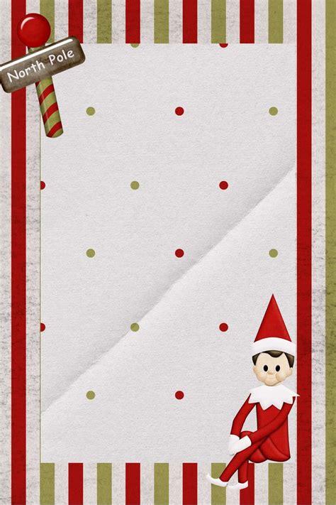 super cute  downloadable elf   shelf note