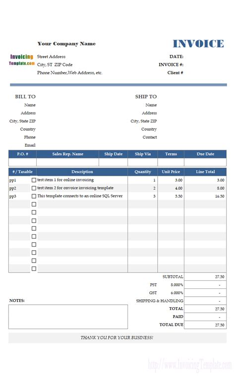 invoice template ms access simple guidance
