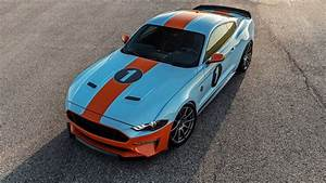 Ford Mustang Gulf Heritage Edition from Brown Lee packs 800 horsepower | Autoblog