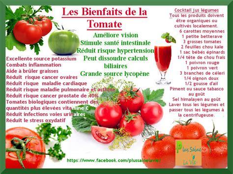 bienfait le de sel les bienfaits de la tomate