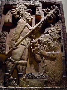Cast Of A Relief Sculpture From The Mayan Ceremonial City
