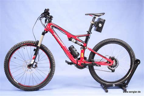 e bike fully mtb fully umbaubeispiele senglar e power on wheels