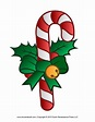 Free Candy Cane Template Printables, Clip Art & Decorations