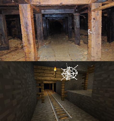 real abandoned  shaft  minecraft abandoned mineshaft minecraft