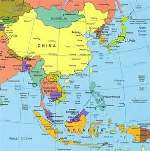 hong kong asia map