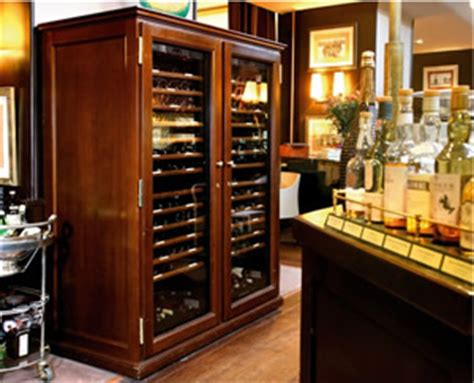 mahogany wine cabinet elite ranges wine cabinets eurocave uk 3972