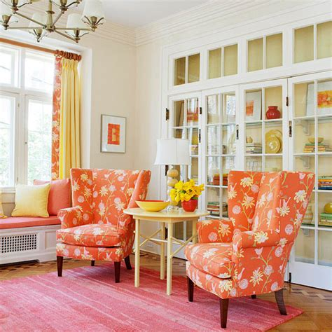 modern furniture new ideas for decorating in orange