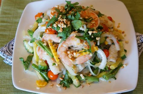 thai salad gourmet by kat thai seafood salad goi thai tom muc