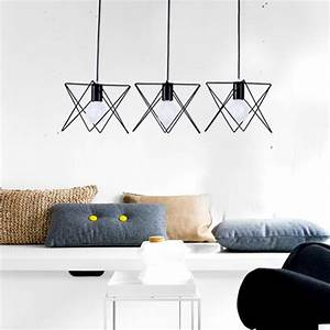 In metal vintage ceiling light pendant lamp cage