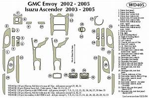 Gmc Envoy 2002 2003 2004 2005 Dash Trim Kit B
