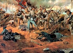 775 best Civil War Battle Art - North & South images on ...