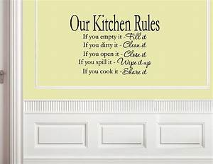 Kitchen wall sayings promotion online shopping for for Kitchen wall sayings vinyl lettering