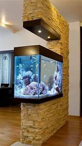 Awesome 50  Stunning Aquarium Design Ideas For Indoor