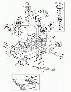 Craftsman Lawn Mower Deck Parts