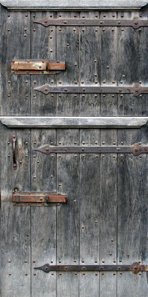 weathered wood door opengameartorg