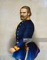 Giuseppe Garibaldi wearing a General's uniform of the ...
