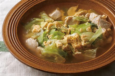 卵 スープ 鶏 ガラ
