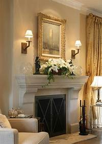 fireplace mantel decorating ideas Decorating Ideas For The Fireplace