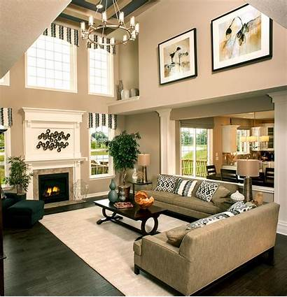 Story Wall Decorating Living Fireplace Rooms Decor