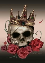 best skull with crown ideas and images on bing find what you ll love