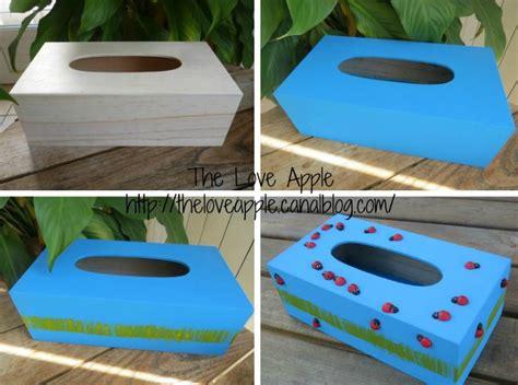 cr 233 er une boite 224 mouchoirs coccinelles activit 233 pour les enfants the apple