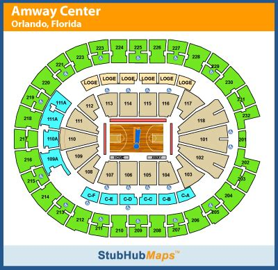 Orlando Magic Seating Chart 3d Ofertasvuelo